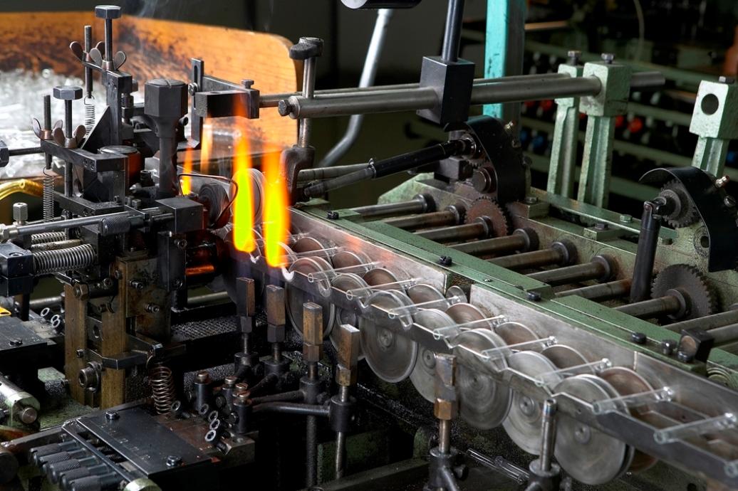 industria de vidro - juntas de  expanso